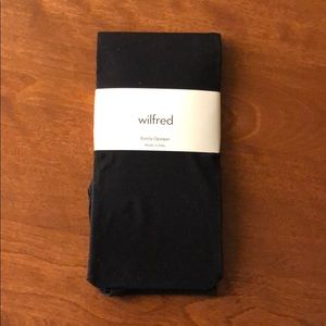 Aritzia Wilfred barely opaque stockings